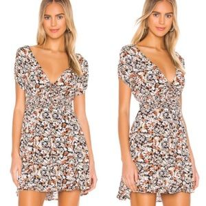 Free People | Forget Me Not Floral Mini Dress